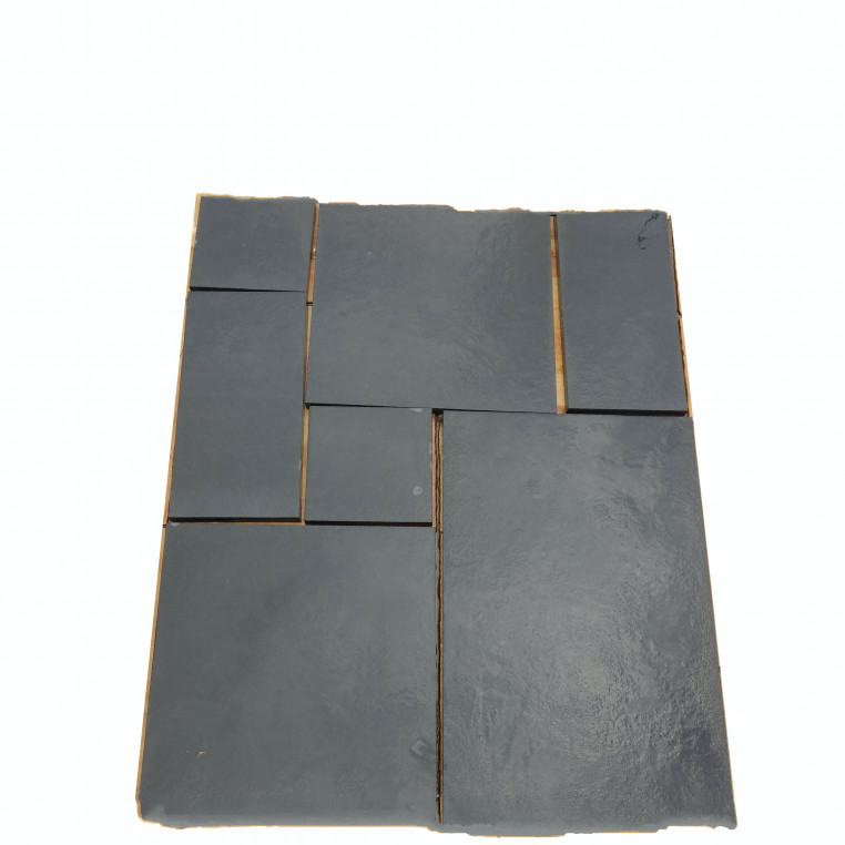 Calibrated Riven  Black Limestone