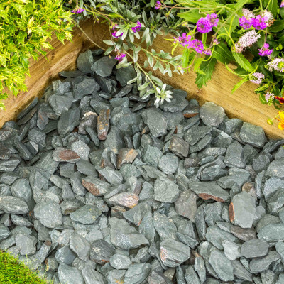 Lakeland Green Slate chippings 40 MM