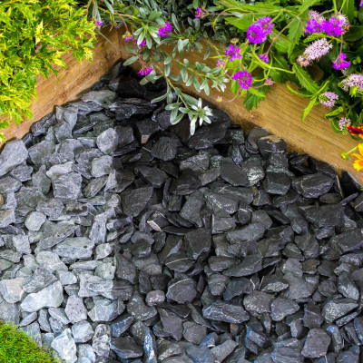 South Lakeland Blue Slate chippings 40 MM thumbnail