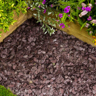 Plum Slate chippings 20 MM