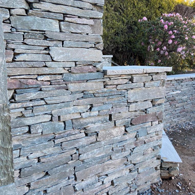 Lakeland Slate Mixed Random Weathered Walling