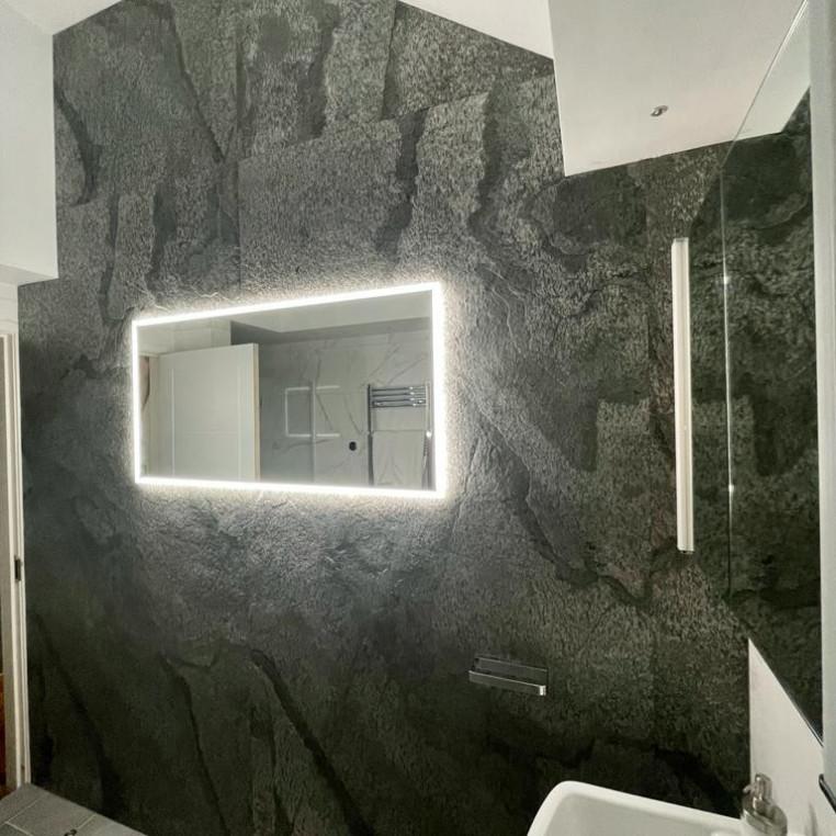Natural Slate Veneer - Silver Shine Slate Wall Cladding