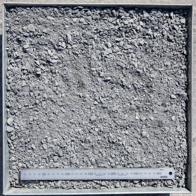 South Lakeland Blue Slate Crushed rock fines.