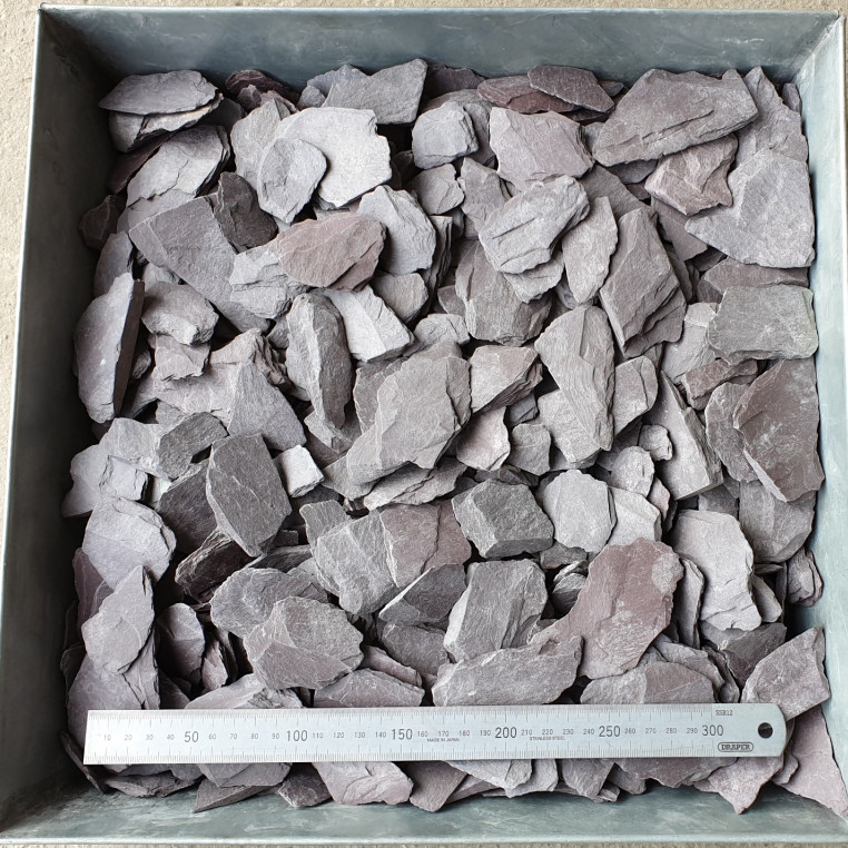 Plum Slate chippings 40 MM