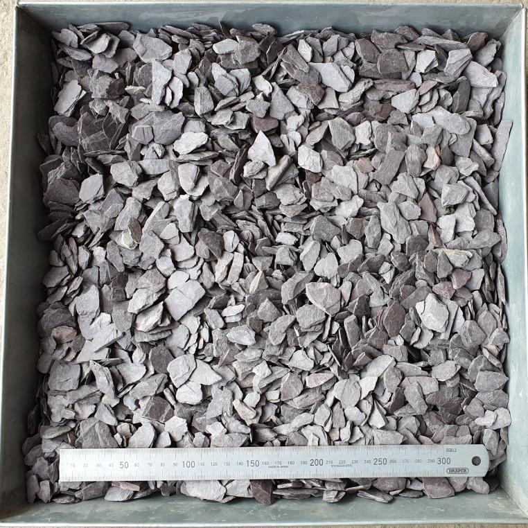 Plum Slate chippings 20 MM