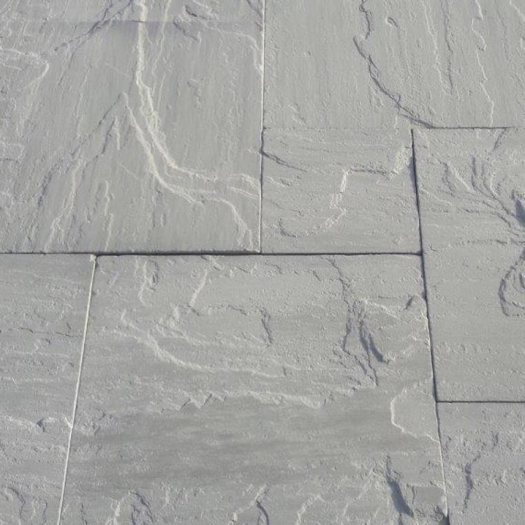 Tumbled  Grey sandstone