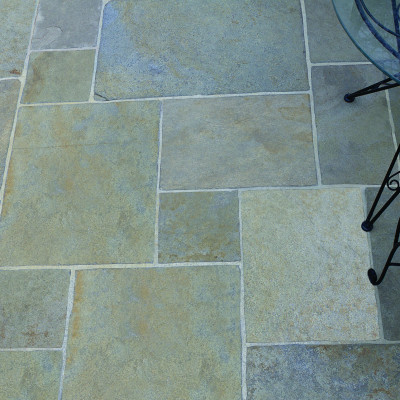 Calibrated Riven yellow limestone