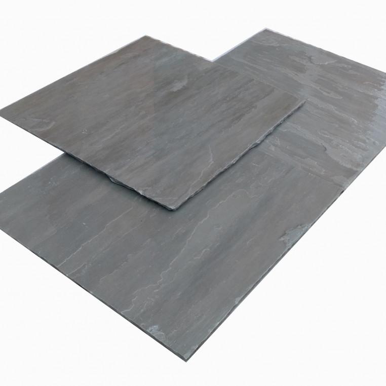 Uncalibrated Grey Riven sandstone