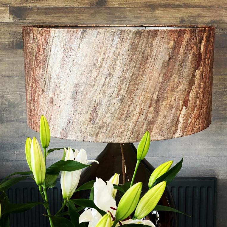 Transluscent Natural Slate Veneer - Copper slate