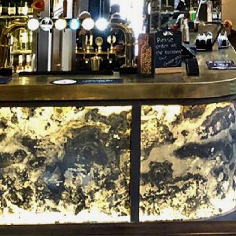 Translucent Natural Slate Veneer - Autumn Rustic Slate