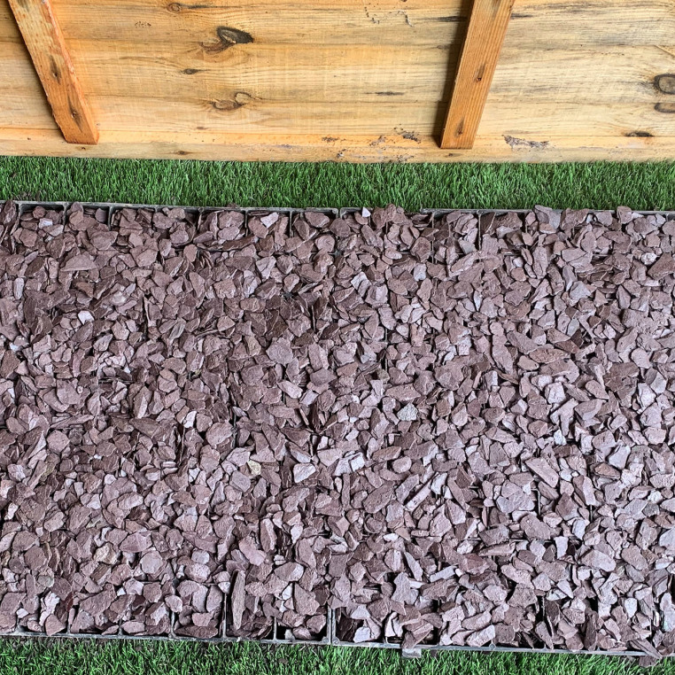 Project Pack Path Plum 20mm - 5 square metres